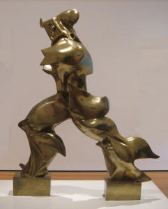 Unique Forms of Continuity in Space' (1913) by Umberto Boccioni