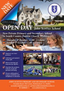 Open Day Flyer 2018 - Oct
