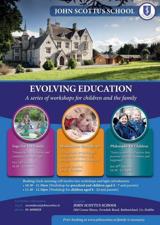 Yoga for the Family - Saturday Nov 24th - John Scottus School
