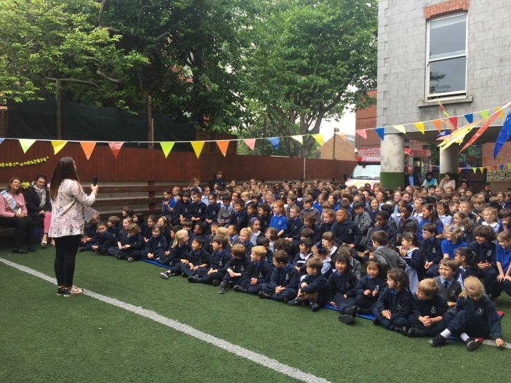 So long and farewell Mrs Van de Belt - John Scottus School